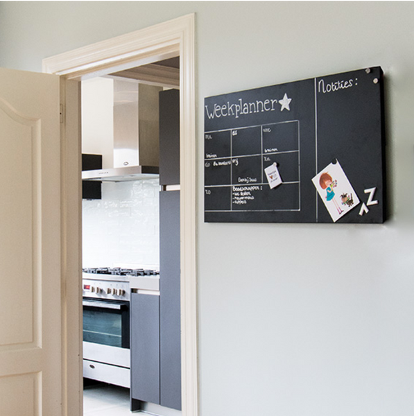 MAGNETIC CHALK BOARD - FRANK - Uniek Living