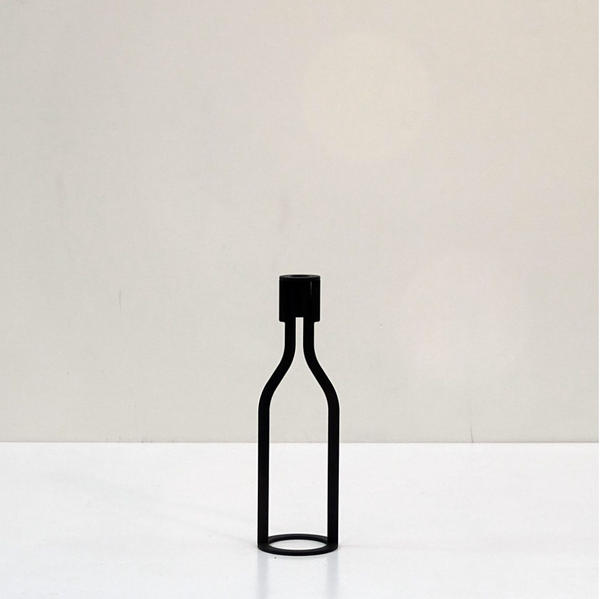 """THE BOTTLE"" - CANDLE HOLDER - Uniek Living"