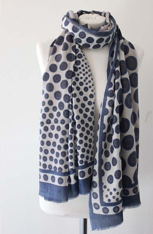 100% CASHMERE SCARF - DROPS