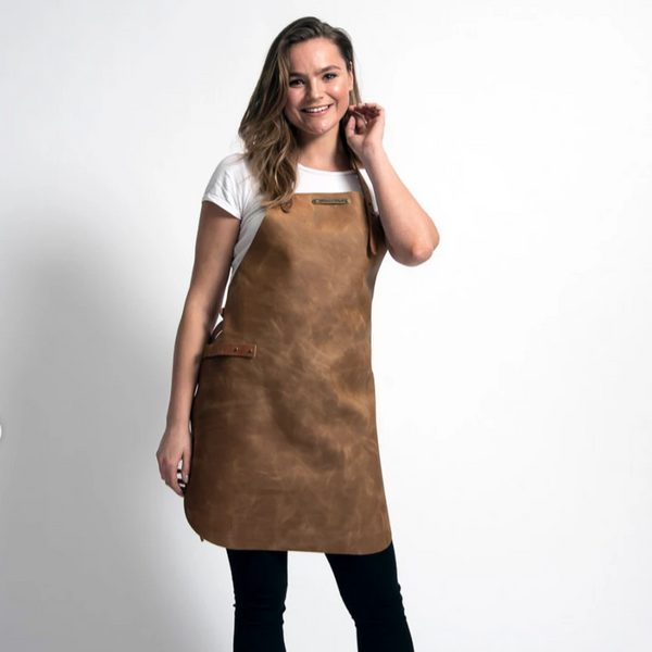 WOMENS LEATHER APRON