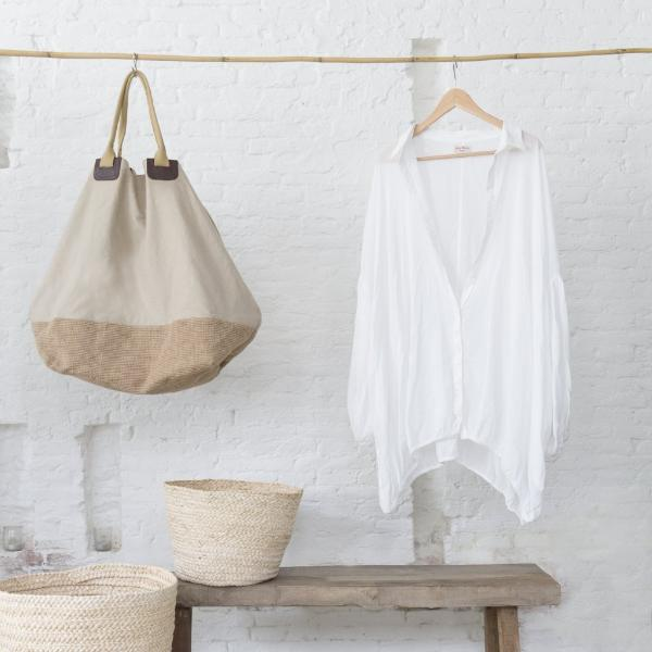 LARGE CANVAS BAG - Uniek Living