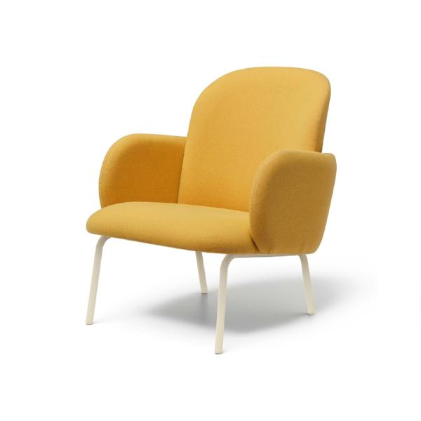 The Dost Chair by Puik in yellow.