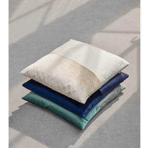 Stack of three Duo pillows by ONTWERPDUO.