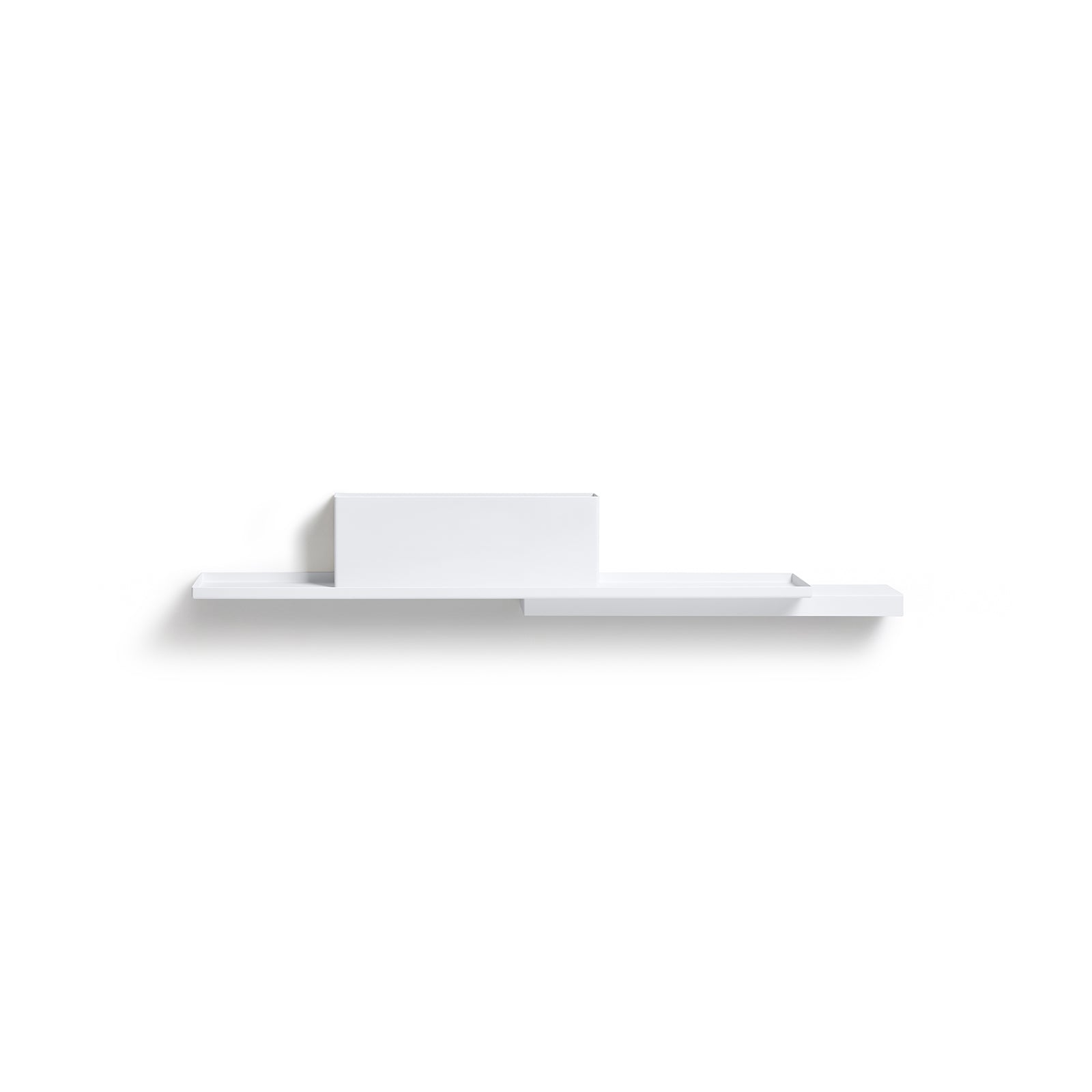 White Duplex Shelf by Puik against a white backdrop.