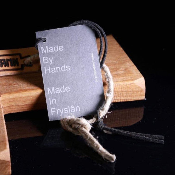 Brood + Plank modern kitchenware is made by hand. Tag on Mare Cutting Board for clarity.