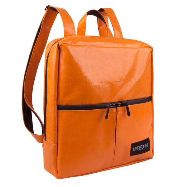 The Alberty Cuyp waterproof backpack in orange.