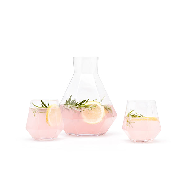 RADIANT WATER GLASSES - Uniek Living