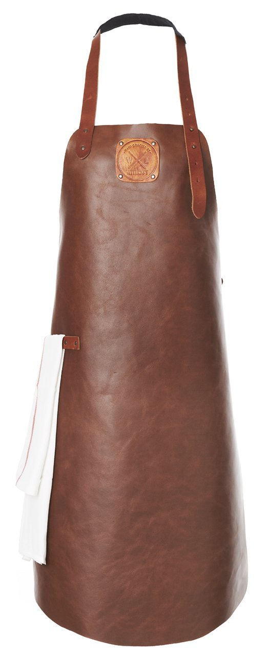 LEATHER APRON - REGULAR COLLECTION - Uniek Living
