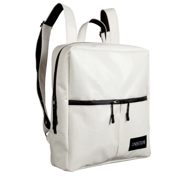 The Alberty Cuyp waterproof backpack in white.