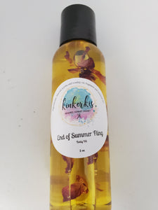 End of Summer Fling Body Oil