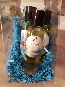 Homie, Lover, Scents Body Oil Trio Gift Set