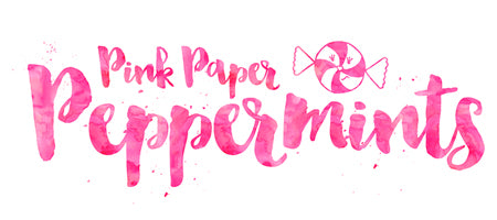 Pink Paper Peppermints
