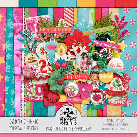 Good Cheer - Digital Scrapbooking Kit