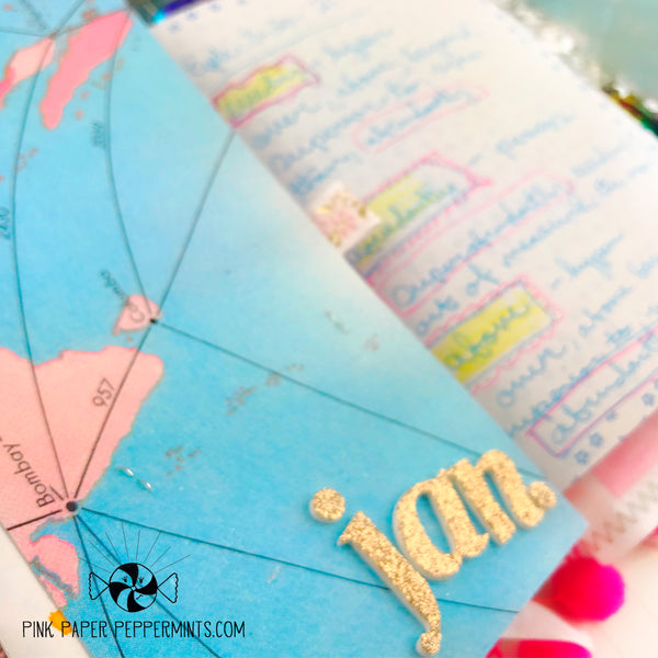 Shine - Colorful Giant Journaling Tags