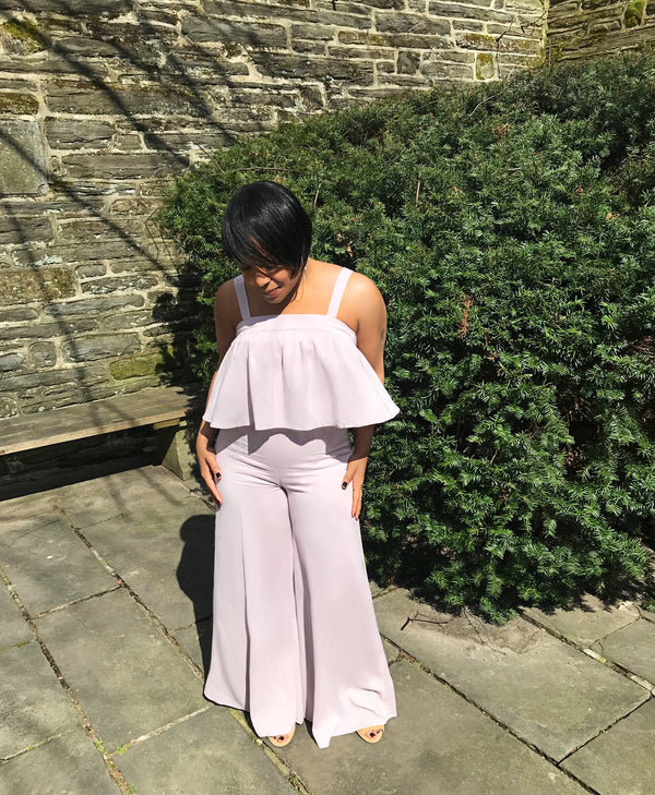 Make Me Blush Two-Piece Pant Set