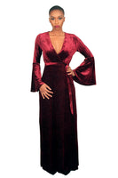 Enchanted Velvet Maxi Dress