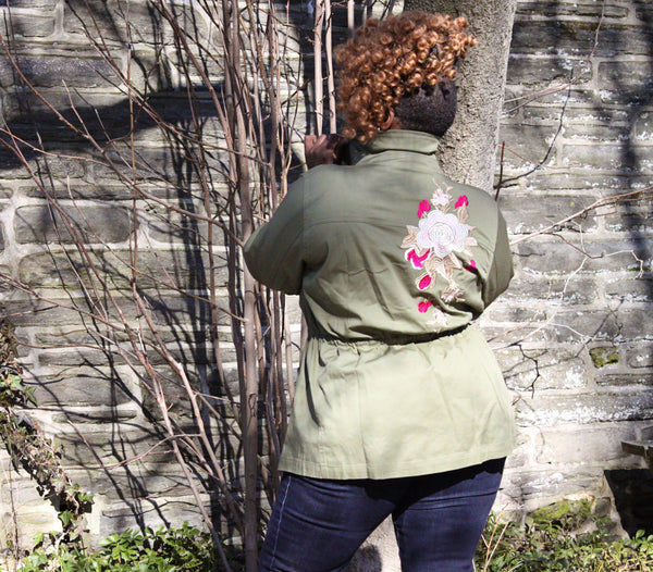 BNB Curves Flower Bomb Jacket - BellaNOR Boutique
