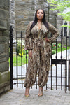 BNB CURVES Perfectly Python Jumpsuit
