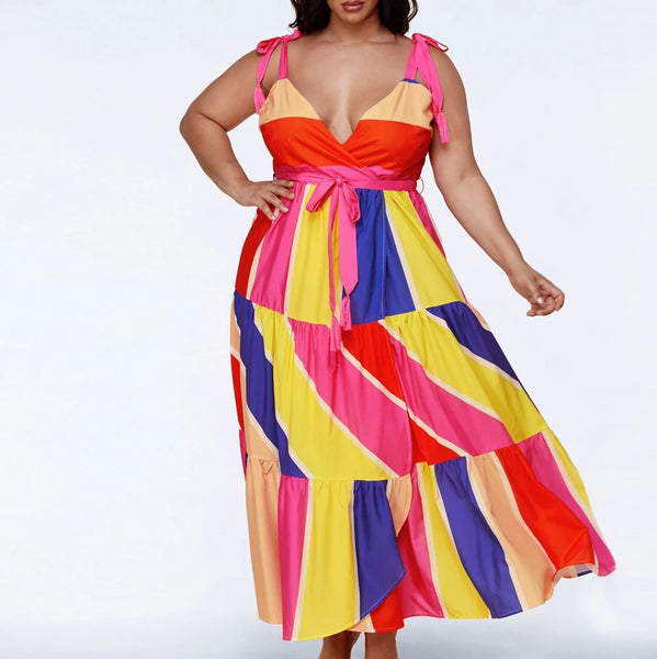 PRE-ORDER: BNB Curves Candy Girl Plus Size Dress - SHIPS 6/24