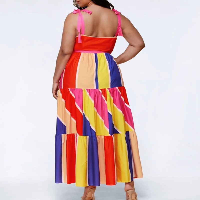 BNB Curves Candy Girl Plus Size Dress
