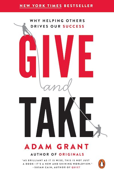 Give and take: A revolutionary approach