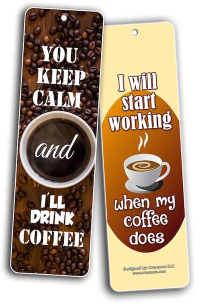 I will start working when my coffee does