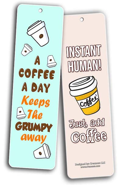 Instant human! Just add coffee