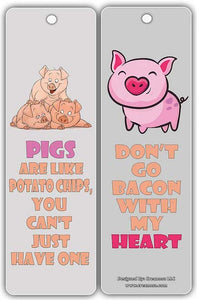 Pigs are like potato chips, you can't just have one