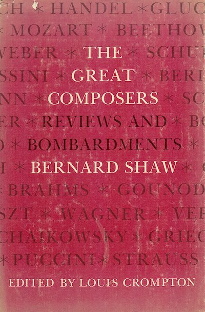 The great composers: Reviews and bombardments