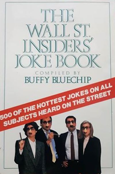 The Wall Street Insider's joke book