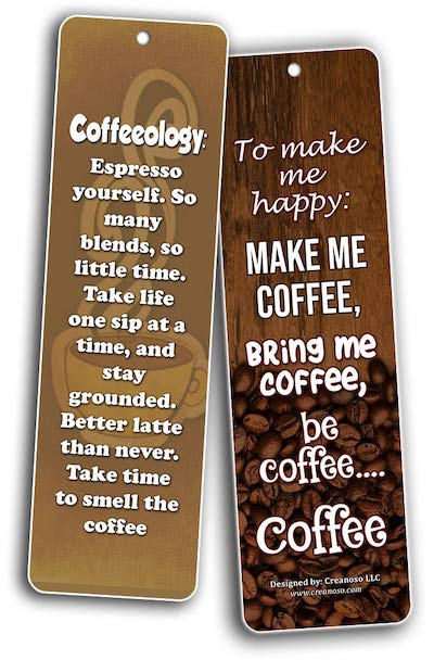 To make me happy: make me coffee, bring me coffee, be coffee... coffee
