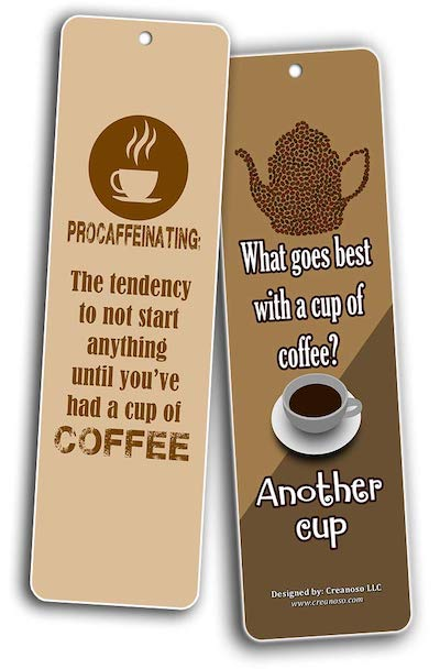 What goes best with a cup of coffee? Another cup