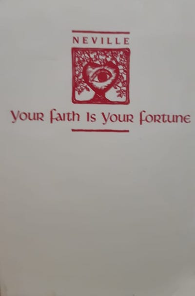 Your faith if your fortune