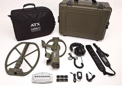 GARRETT ATX DEEPSEEKER PACKAGE w/two OPEN Search Coils