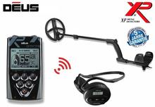 "XP DEUS WITH WS4 LCD WIRELESS BACK- HEADPHONES, REMOTE AND 11"" COIL"