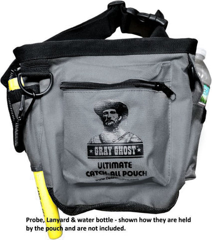 "DetectorPro Gray Ghost Ultimate ""Catch-All"" Pouch"