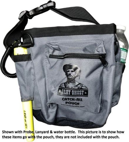 "DetectorPro Gray Ghost ""Catch-All"" Pouch"