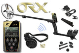 XP ORX WIRELESS METAL DETECTOR WITH REMOTE AND WIRELESS HEADPHONES