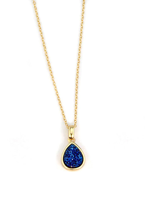 Emma Teardrop Pendant in Gold