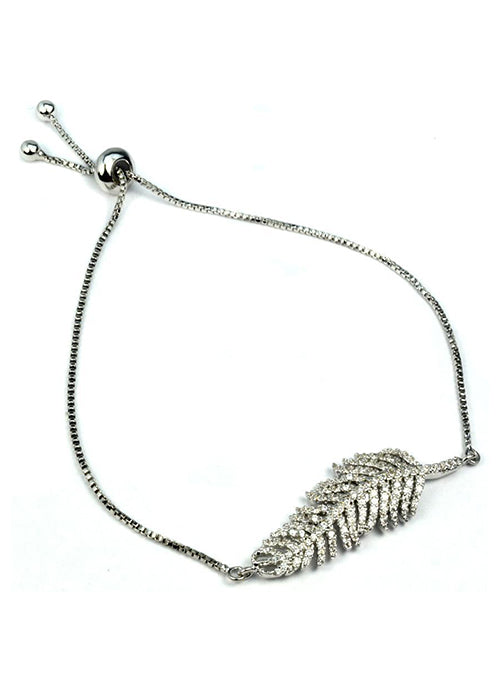 Abigail Feather Bracelet