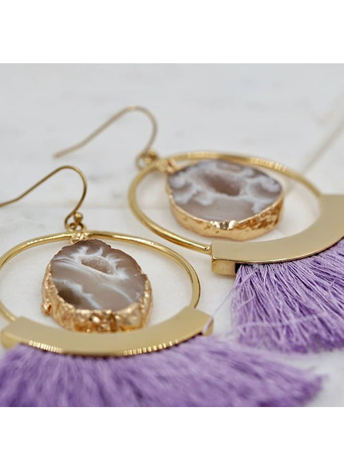 Royal Fringe Earrings