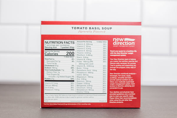 Natural Tomato Basil Soup