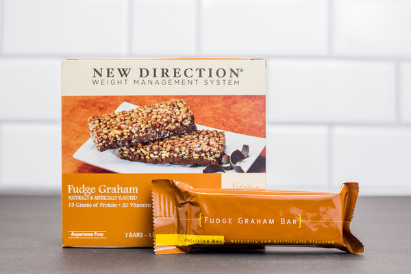 Fudge Graham Snack Bars