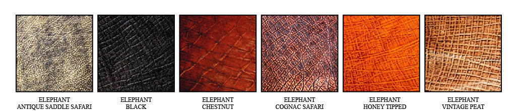 Elephant Leather Seat Colors