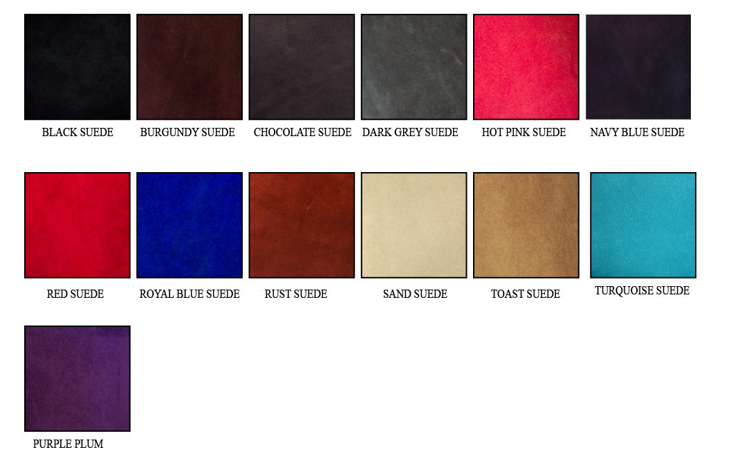 Suede Leather Seat Colors
