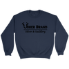 Usher Brand Sweat Shirt with Black Letters
