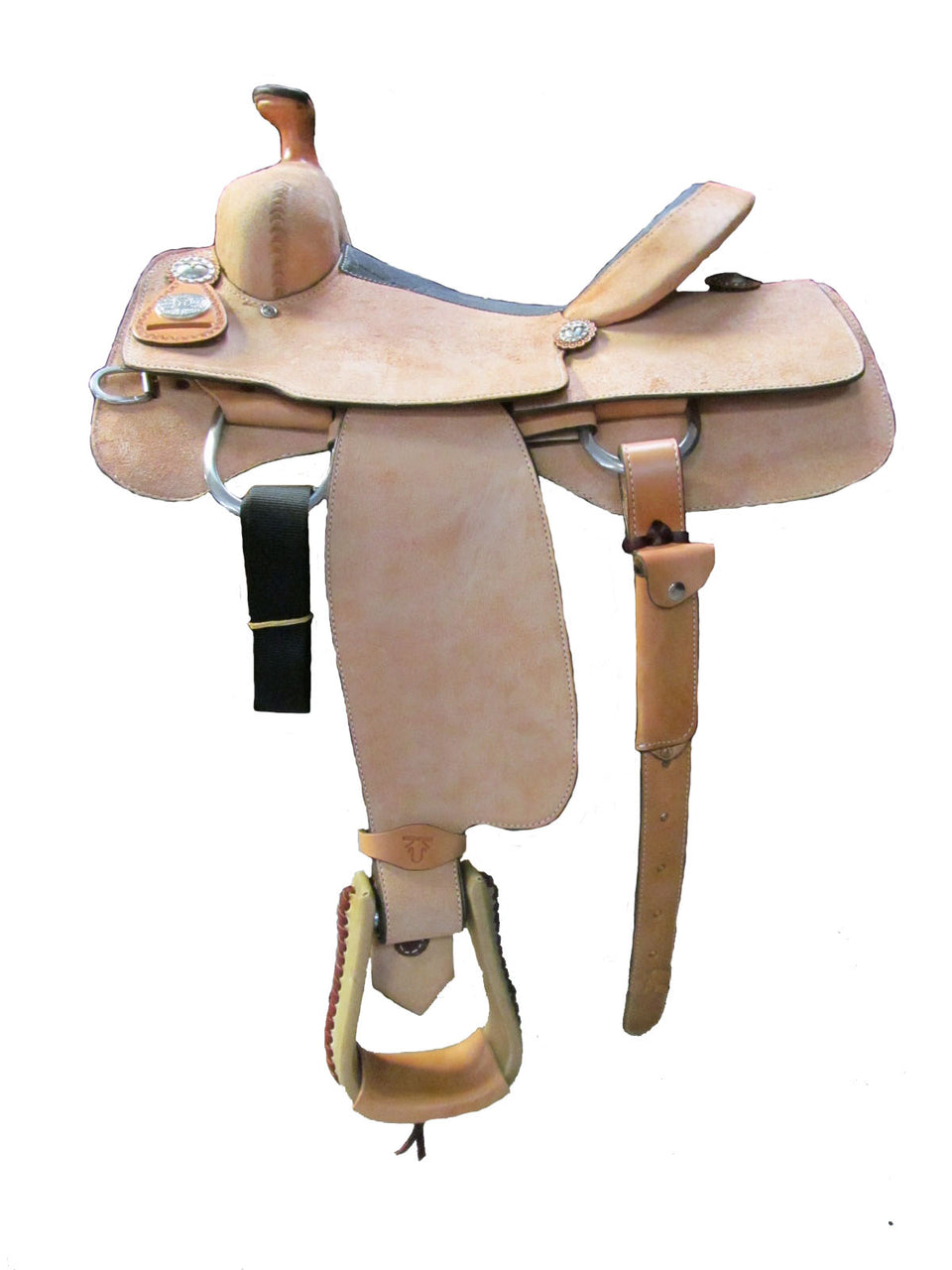 Unbranded Team Roping Saddle UNTR-002