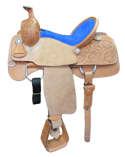 Unbranded Team Roping Saddle UNTR-004