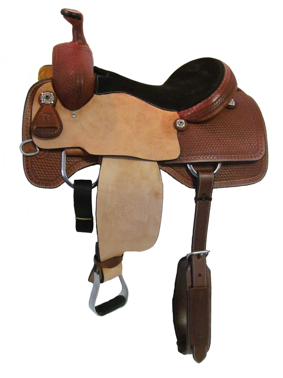 Unbranded Team Roping Saddle UNTR-005