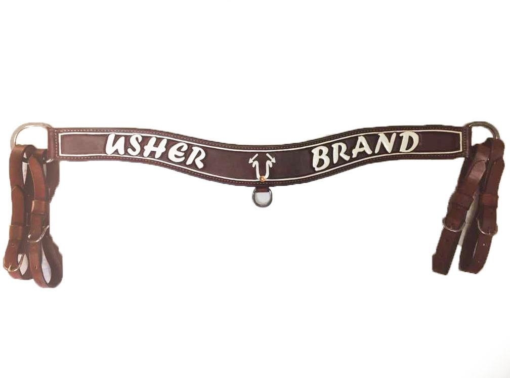 "3"" Usher Brand Tripping Collar with Pinstripe; UBTC-001"